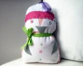 Penguin Tooth Fairy Pillow, Pinguin Nursery Decor, Baby Shower Gift, Tooth Fairy Pillow, Kids Room Decor, Birthday Gift, Felt Pillow, PINGU