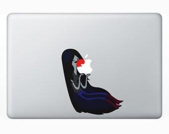 Marceline the Vampire Queen Adventure TIme Macbook Sticker