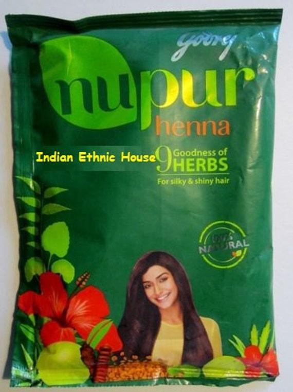 Nupur Henna Mehndi : Godrej nupur mehndi henna heena hair color by