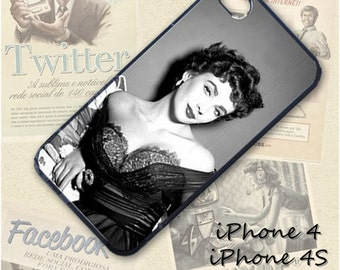Elizabeth Taylor cell phone Case / Cover for iPhone 4, 5, Samsung S3, HTC One X, Blackberry 9900, iPod touch 4 / 100