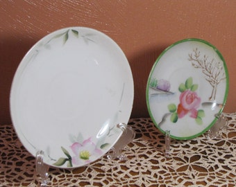 Two (2) Small Vintage Plates