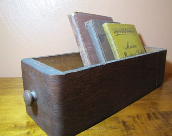 Vintage Sewing Machine Cabinet Drawer
