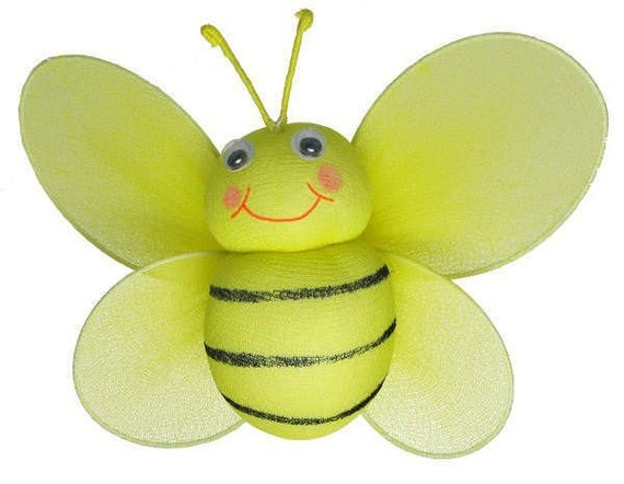Bumble bee decoration 14 hanging nylon bumblebee decor for Bumble bee mural