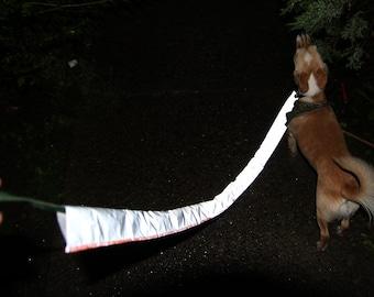 Dog Leash Reflective Cover - Safe Dog Walking at Night - Night Visibility