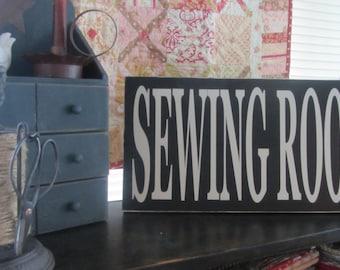 Sewing Room VINYL DECAL