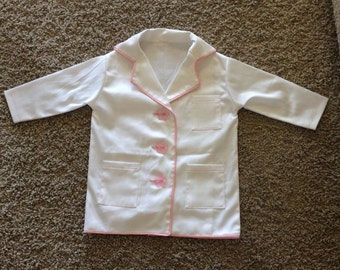 Child/Toddler Dress-Up Doctor Lab Coat