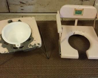Vintage Little Toidey Toilet Seat