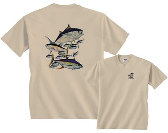 Tuna Fish Montage Shirt