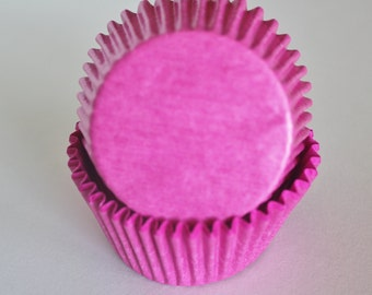 Hot Pink Cupcake Papers
