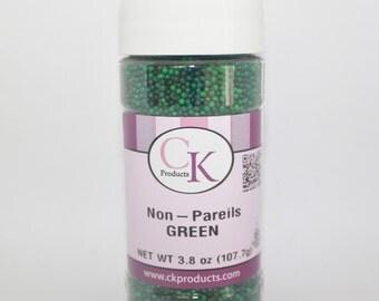 Dark Green Non-Pareils