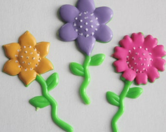 Flower Cupcake Picks