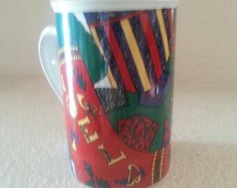 1995 Holiday Elegance Limited Edition Christmas Mug Signature Housewares