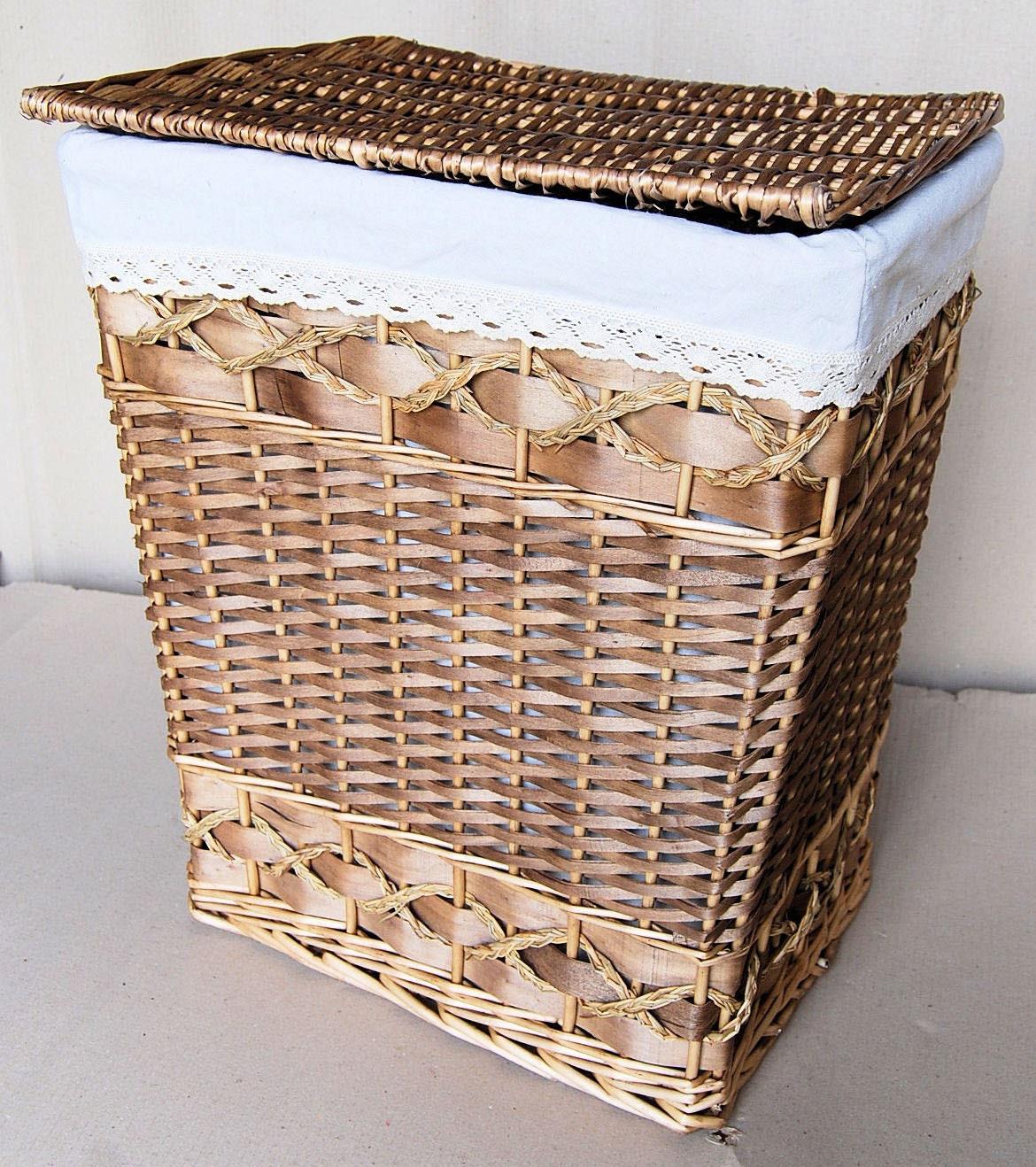 Small willow laundry hamper 13l x 9w x 16h - Way laundry hamper ...