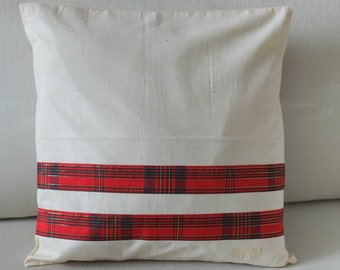 Handmade Christmas Cushion Covers - Set of 2
