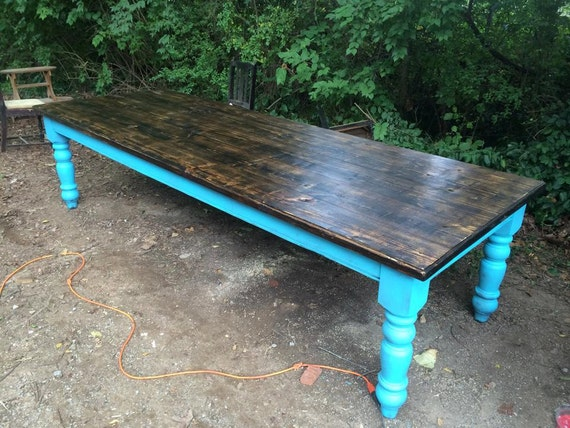 10 foot farm table in heart pine for 10 ft farmhouse table