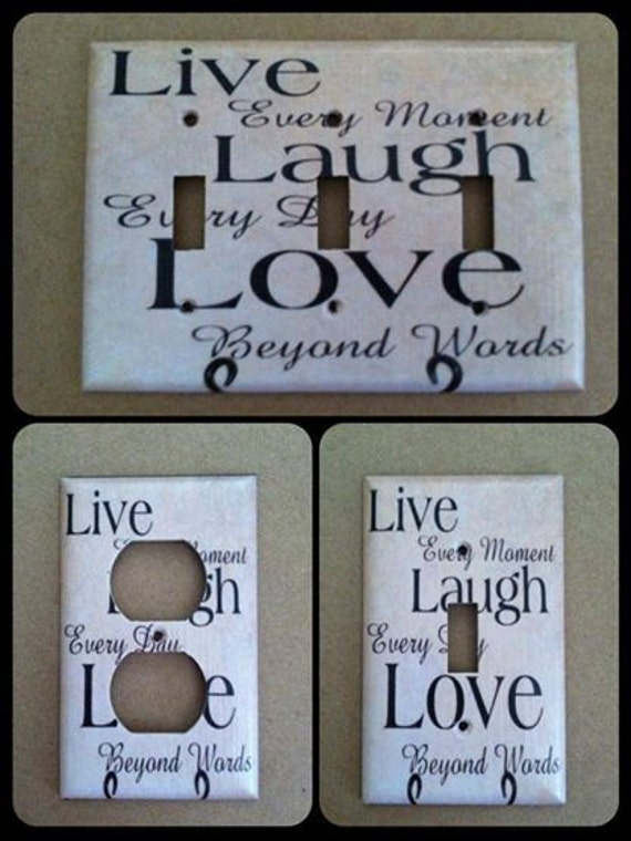 Items Similar To Live Laugh Love Home Decor Custom Light