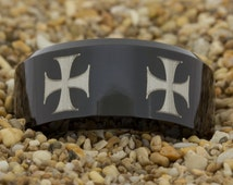 maltese cross wedding ring