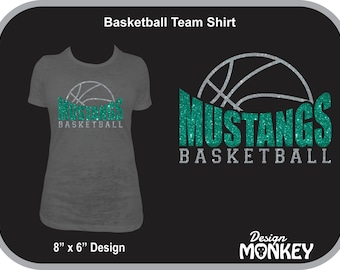 Personalized Basketball Team T-Shirt