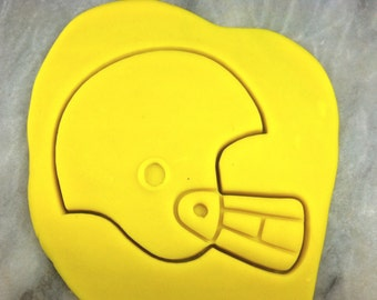 Football Helmet Cookie Cutter Detailed - CHOOSE Your OWN SIZE - Fast Shipping!