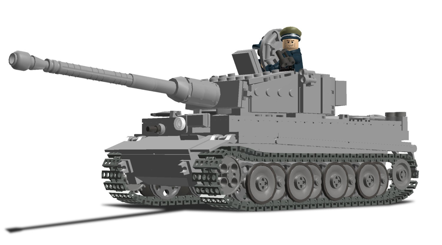Lego Tiger Tank Instructions