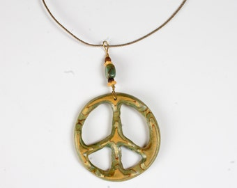 Peace Sign Pendent