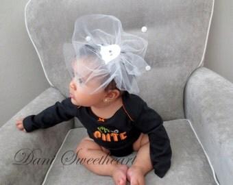 Cute Ghost Baby Headband *Halloween Baby Headband