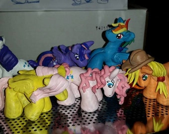 My Little Pony Sculpture group