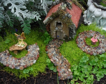 FAIRY GARDENS PATH of Stone for Fairy Gardens, Fairy Path for Miniatures and Terrariums