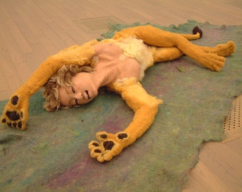 Sleeping lion (Sphinx)
