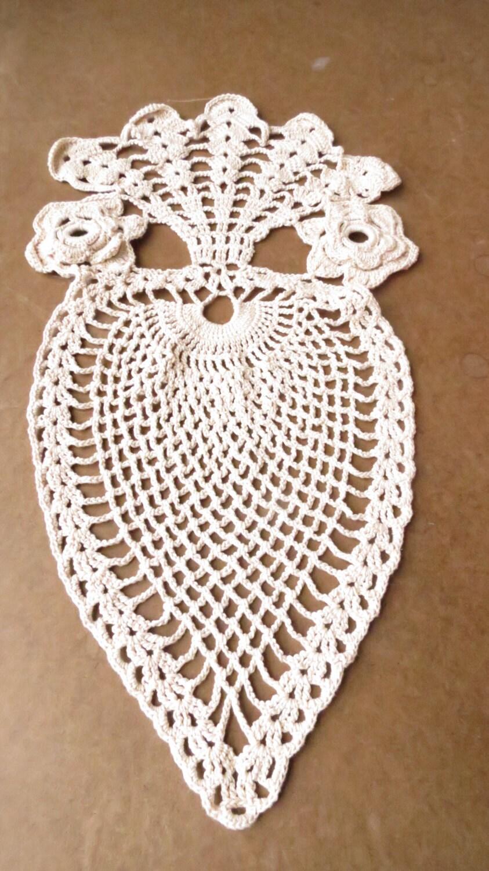 vintage crochet white owl wall hanging 1970s wall decor. Black Bedroom Furniture Sets. Home Design Ideas