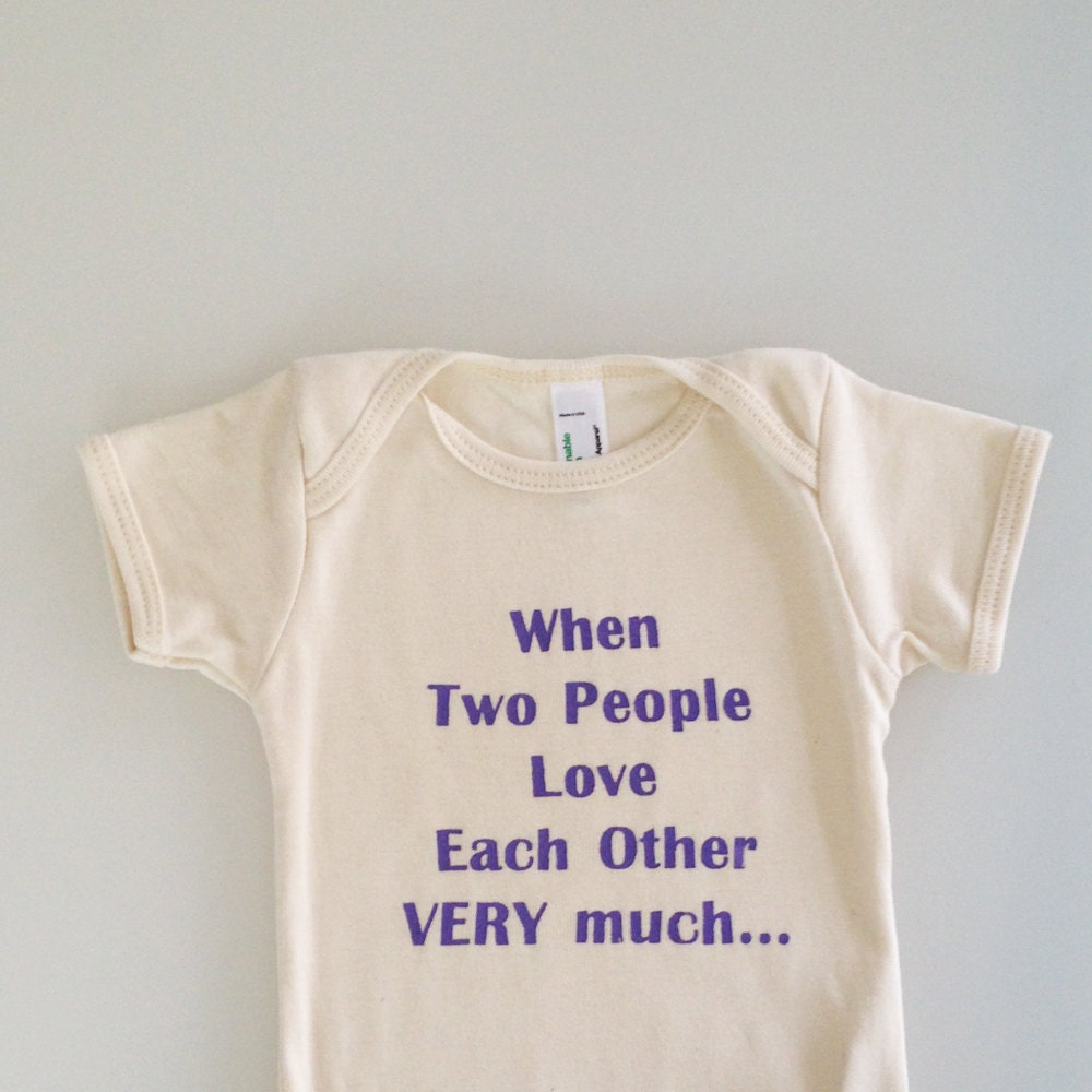 People That Love Each Other: When Two People Love Each Other Very Much Baby Shower Gift