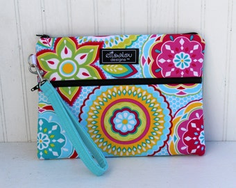 Kindle / iPad Mini / Nook / eReader / Padded Pouch / Wristlet / Bag / Bodilla Star