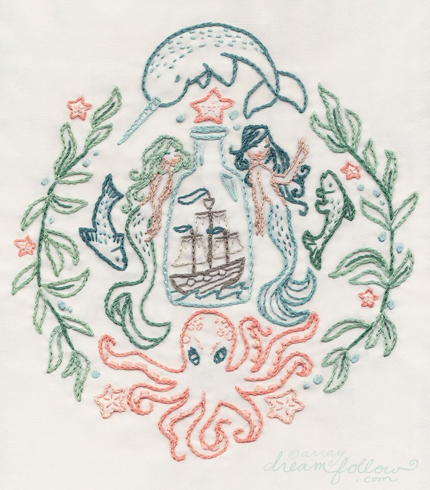 Ship in a bottle embroidery pattern nautical decor pdf download this is a digital file bankloansurffo Gallery