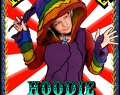 New Hoodie Tutorial by Katwise - Make your Own Upcycled Sweater - Ebook