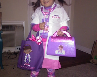 TOTE BAG Doc McStuffins Personalized Toddler or Big Kid Tote