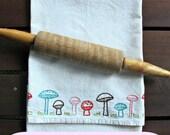 MUSHROOM ROW - pdf embroidery pattern
