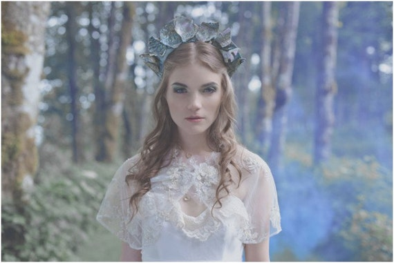 IN STOCK One of Kind Abalone Crown  As seen in Coco bride and Green Wedding shoes.