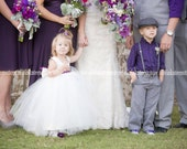 Flower Girl Dress and Sash