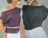 Knitting Patterns Sweaters Cardigans Skirts Bramwell Fashions Women Men Vintage Paper Original NOT a PDF
