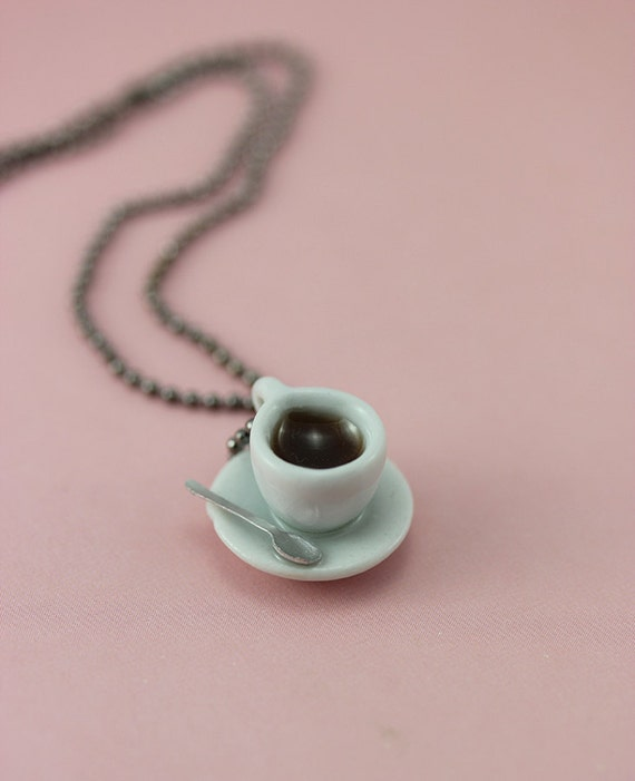 Coffee Break Necklace