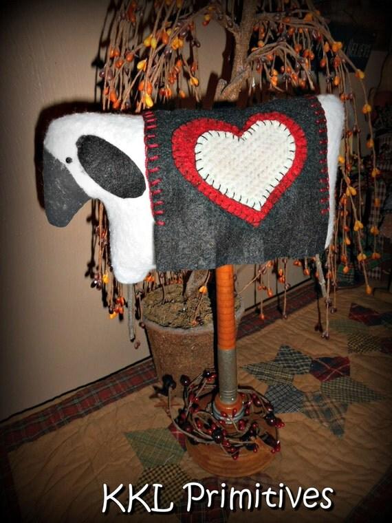 Instant Downloadable E-Pattern  Love Ewe Sheep Make-do  FAAP OFG
