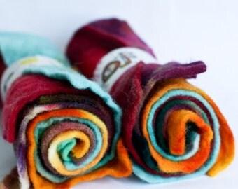 Woodland {Hand Dyed Wool Felt}