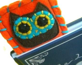 Owly Bookmark - Eco-friendly Felt Owl Bookmark