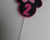 DIY Minnie Mouse table decoration