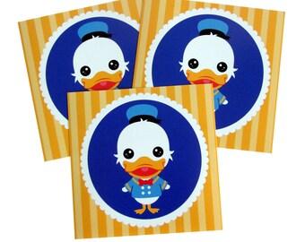 Donald Duck Art Print 5 x 5