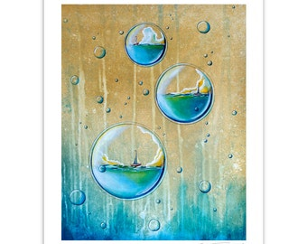 Seafarer Series Limited Edition - Traveling In Circles - Signed 8x10 Matte Print (7/10)