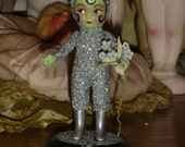 My Favorite Flapper Martian Vintage Bisque Altered Art Doll