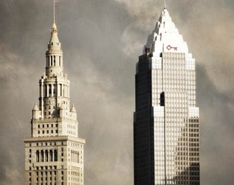 architecture photography cleveland fine art photography city skyline office decor home decor