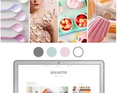 Mobile Responsive Blogger Template | Premade Blogger Template | Blog Design Blog Butter