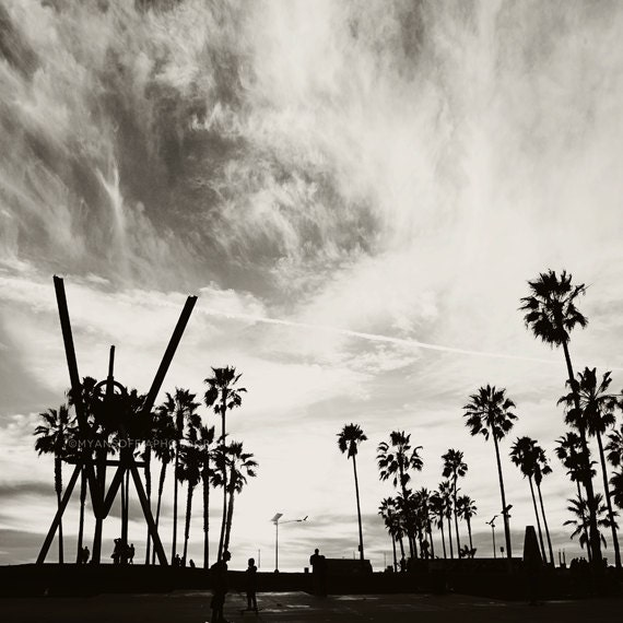 photography venice beach photo black and white photograph. Black Bedroom Furniture Sets. Home Design Ideas